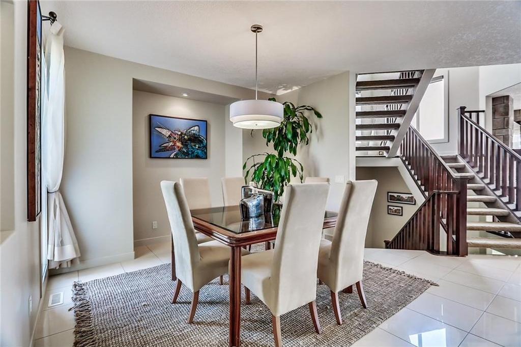A large formal dining area, more than enough space for a table for 12! Perfect for entertaining!