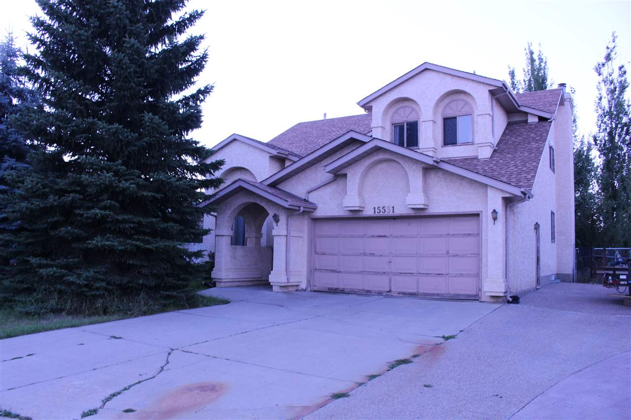 Main Photo: 15531 132 Street in Edmonton: Zone 27 House for sale : MLS® # E4077220