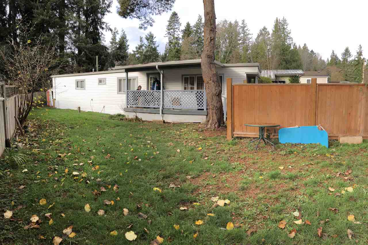 Photo 1: Photos: 1 4514 SUNSHINE COAST Highway in Sechelt: Sechelt District Manufactured Home for sale (Sunshine Coast)  : MLS®# R2224753