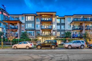 "Main Photo: 414 1150 KENSAL Place in Coquitlam: New Horizons Condo for sale in ""Thomas House"" : MLS® # R2227270"