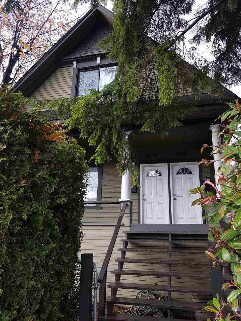 Main Photo: 2731 FRASER Street in Vancouver: Mount Pleasant VE House for sale (Vancouver East)  : MLS®# R2238051