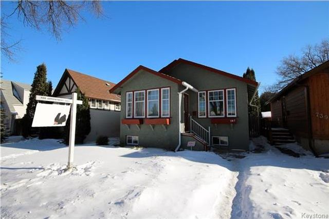 Main Photo: 741 Goulding Street in Winnipeg: Residential for sale (5C)  : MLS® # 1802992