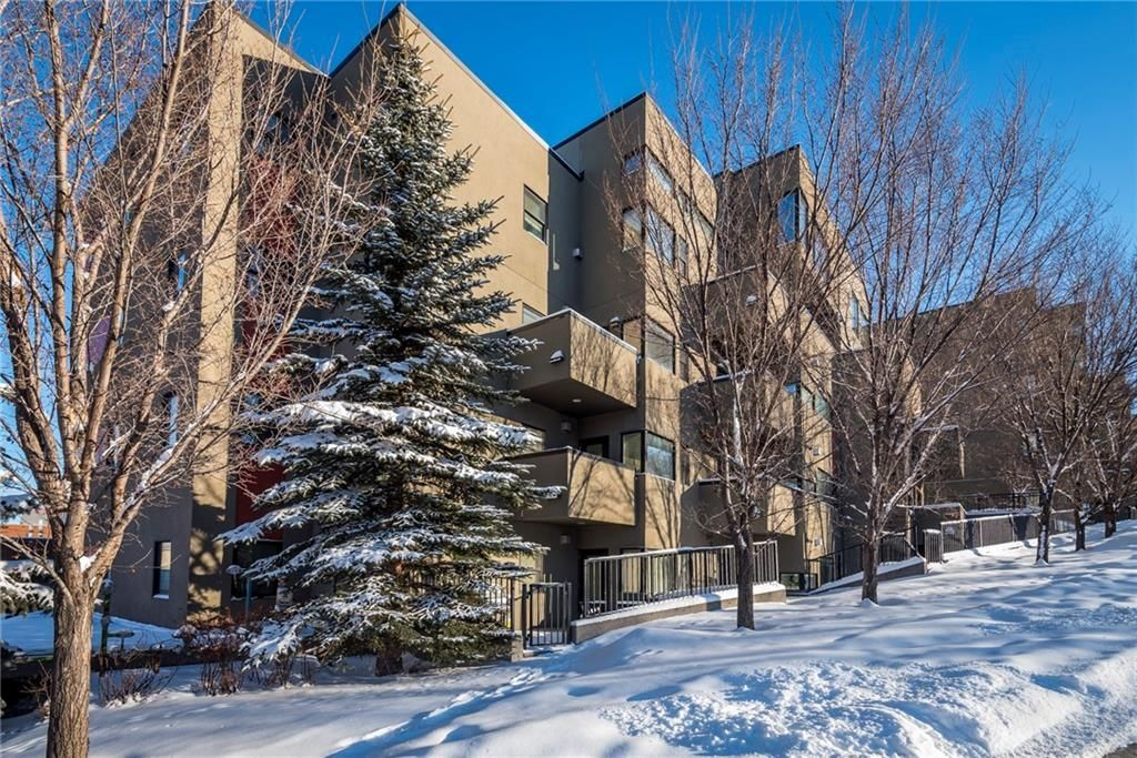 Main Photo: 407 1818 14 Street SW in Calgary: Lower Mount Royal Condo for sale : MLS®# C4163895