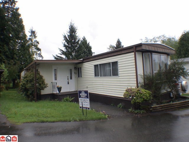 "Main Photo: 93 24330 FRASER Highway in Langley: Otter District Manufactured Home for sale in ""Langley Grove Estates"" : MLS® # F1128799"