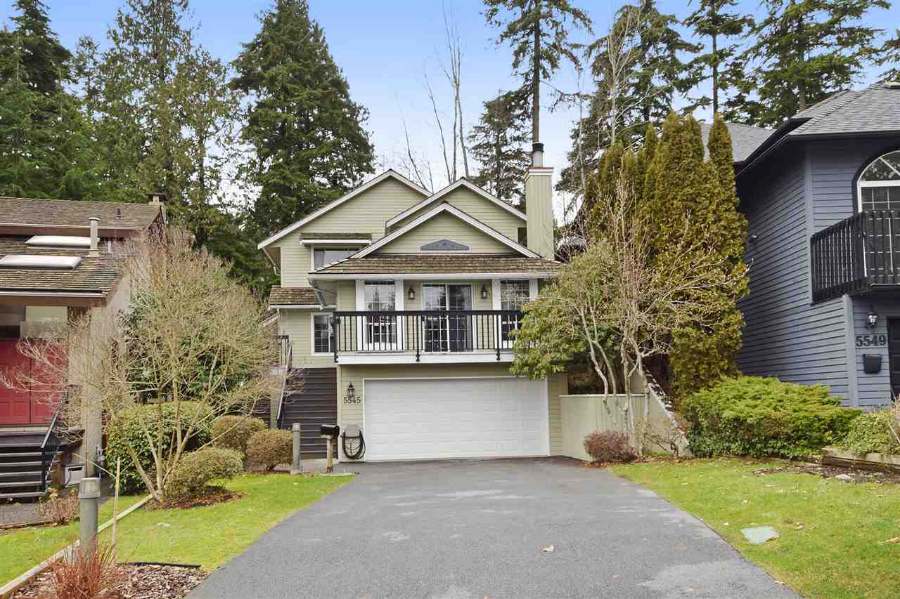"Main Photo: 5545 DEERHORN Lane in North Vancouver: Grouse Woods House for sale in ""GROUSEWOODS"" : MLS® # R2031482"