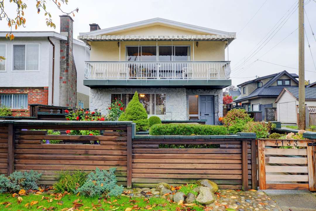 Main Photo: 4133 ST GEORGE Street in Vancouver: Fraser VE House for sale (Vancouver East)  : MLS(r) # R2118828