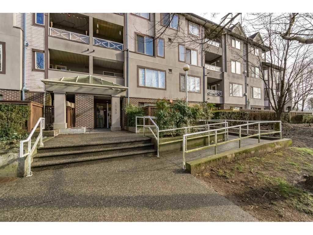 "Main Photo: 107 1145 HEFFLEY Crescent in Coquitlam: North Coquitlam Condo for sale in ""CENTERGATE"" : MLS® # R2140987"