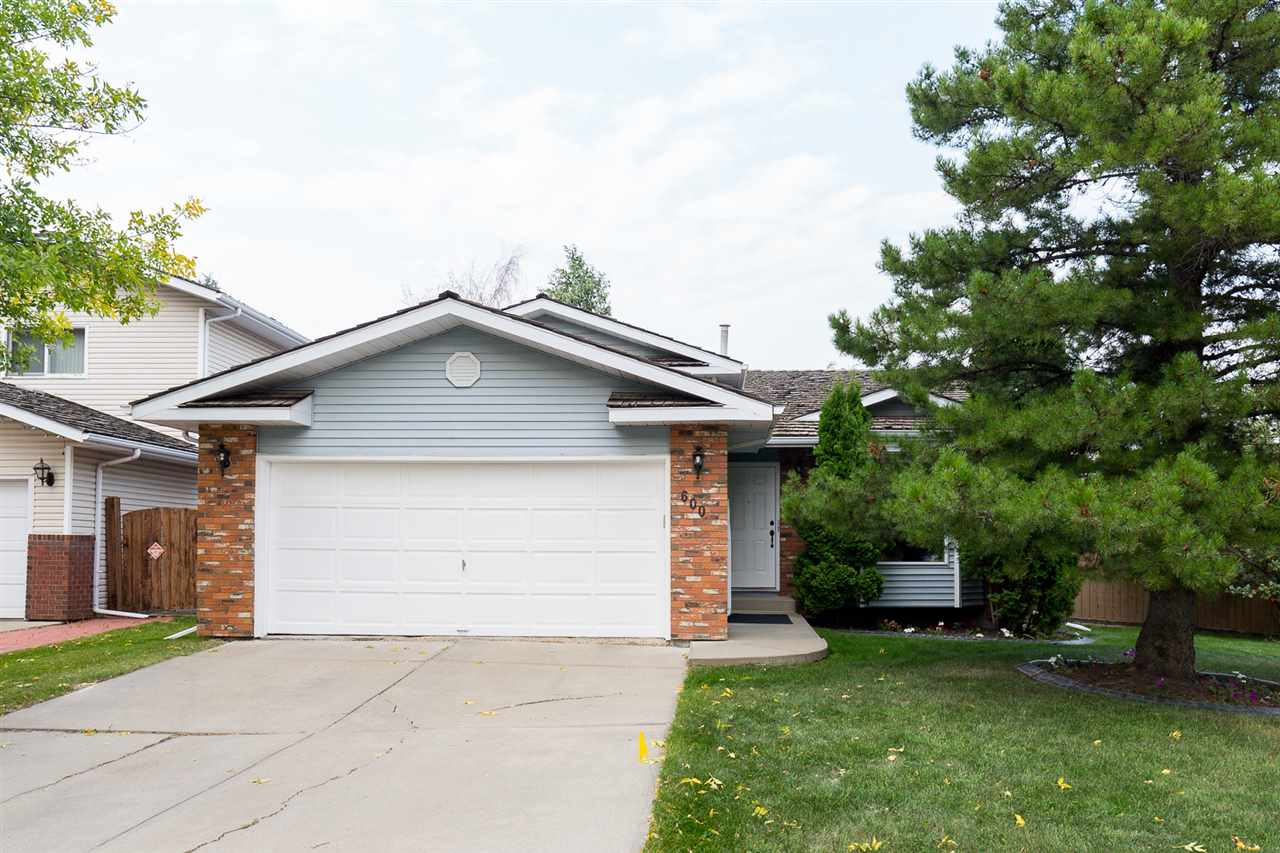 Main Photo: 600 BURGESS Close in Edmonton: Zone 14 House for sale : MLS® # E4078521