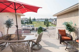Main Photo: 14 101 JIM COMMON Drive: Sherwood Park Townhouse for sale : MLS® # E4079305