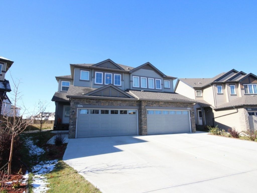 Main Photo: 1514 52 Street in Edmonton: Zone 53 House Half Duplex for sale : MLS® # E4085242