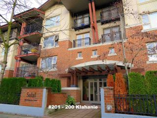 "Main Photo: 201 200 KLAHANIE Drive in Port Moody: Port Moody Centre Condo for sale in ""SALAL"" : MLS® # R2222800"