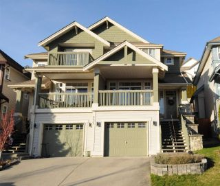Main Photo: 131 FOREST PARK Way in Port Moody: Heritage Woods PM House 1/2 Duplex for sale : MLS® # R2239219