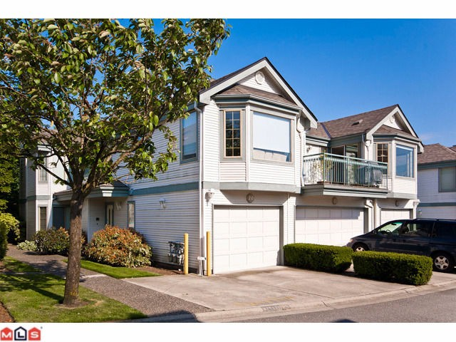 "Main Photo: 10 15840 84TH Avenue in Surrey: Fleetwood Tynehead Townhouse for sale in ""FLEETWOOD GABLES"" : MLS® # F1114742"