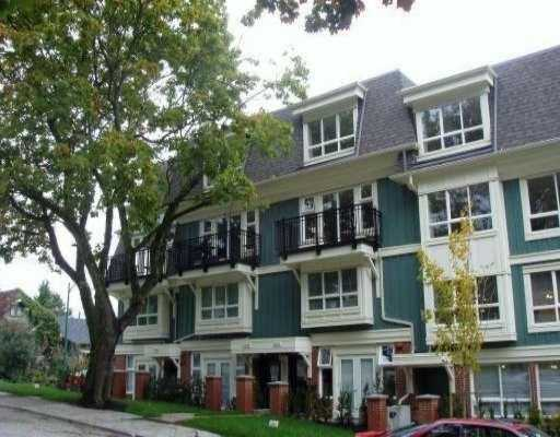 "Main Photo: 2776 ALMA Street in Vancouver: Point Grey Townhouse for sale in ""20 ON THE PARK"" (Vancouver West)  : MLS(r) # V547421"