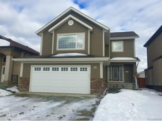 Main Photo: 55 Haverhill Crescent in WINNIPEG: Windsor Park / Southdale / Island Lakes Residential for sale (South East Winnipeg)  : MLS® # 1501664