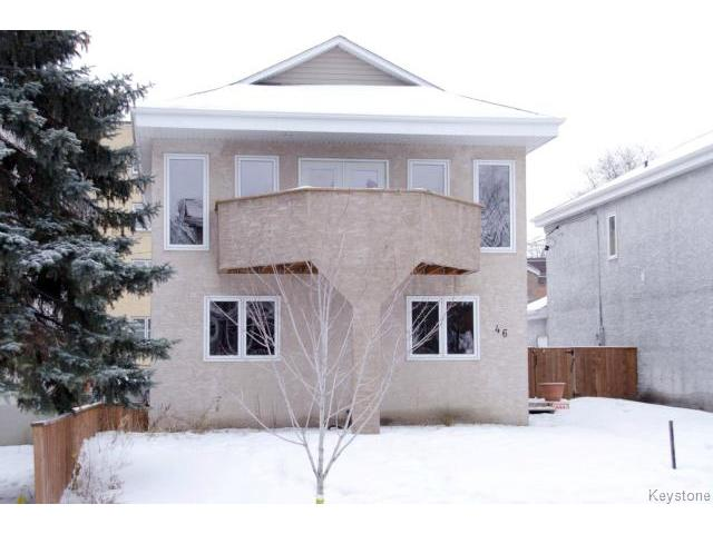 Main Photo: 46 Dundurn Place in WINNIPEG: West End / Wolseley Residential for sale (West Winnipeg)  : MLS® # 1502643