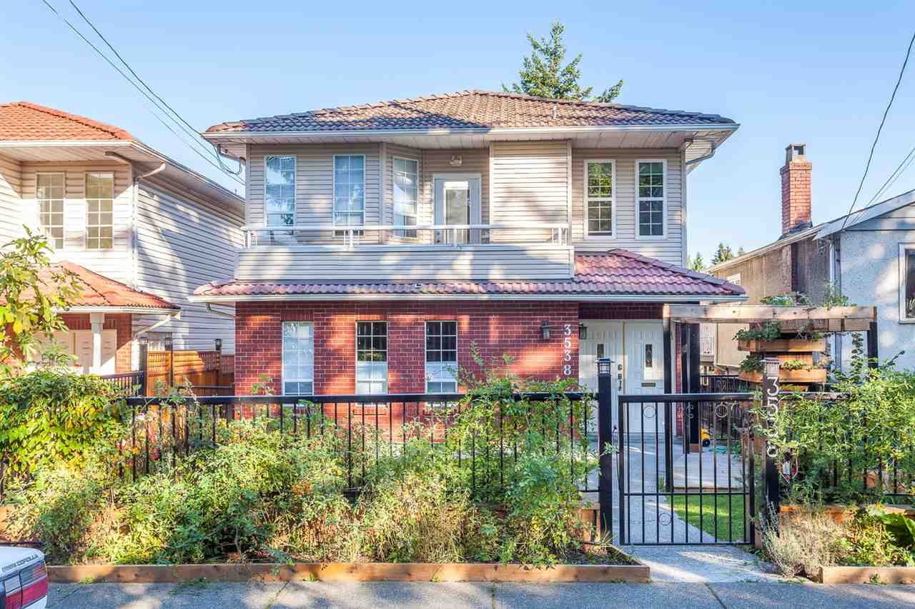 "Photo 1: 3538 BELLA VISTA Street in Vancouver: Knight House for sale in ""CEDAR COTTAGE"" (Vancouver East)  : MLS® # R2004519"