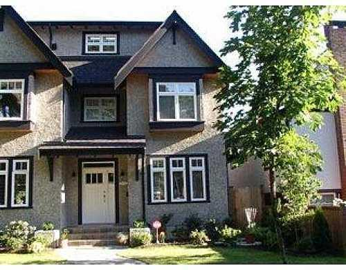 Main Photo: 2222 13TH Ave in Vancouver West: Arbutus Home for sale ()  : MLS® # V625155