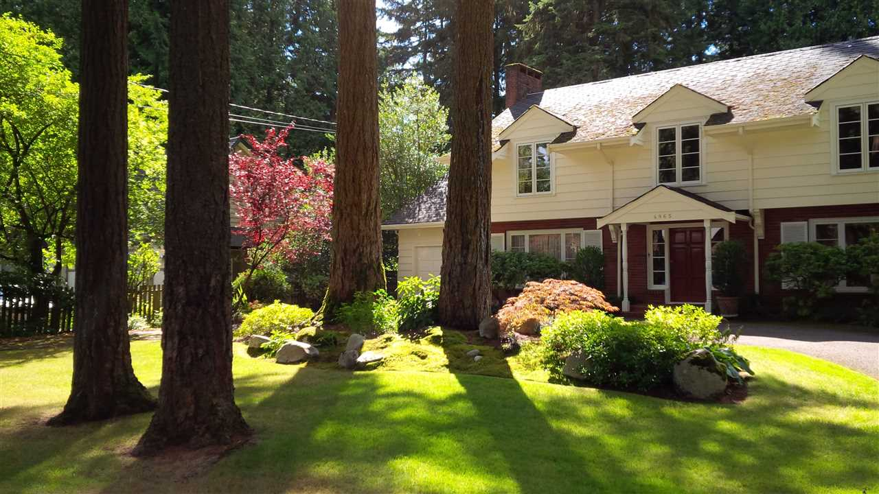 "Main Photo: 4865 CAPILANO Road in North Vancouver: Canyon Heights NV House for sale in ""Canyon Heights"" : MLS®# R2131377"