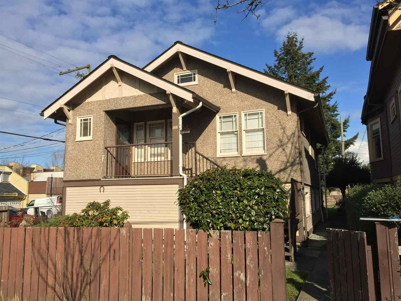 Main Photo: 727 E 26 Avenue in Vancouver: Fraser VE House for sale (Vancouver East)  : MLS® # R2143519
