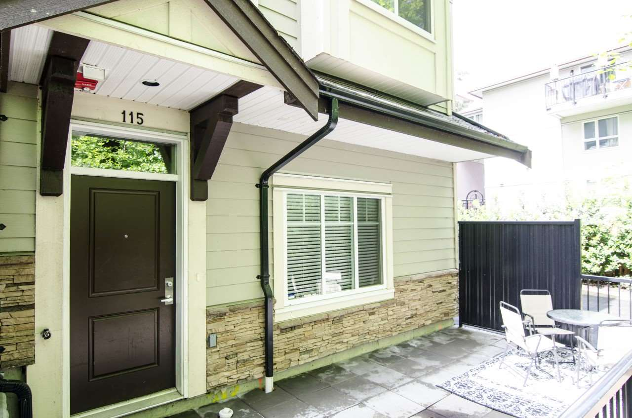 "Main Photo: 115 3888 NORFOLK Street in Burnaby: Central BN Townhouse for sale in ""PARKSIDE GREENE"" (Burnaby North)  : MLS(r) # R2159887"