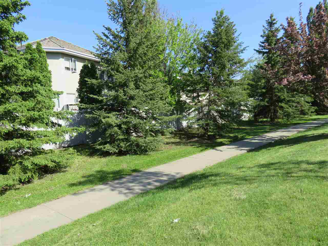 Here is a picture of the back of fence & house from the WALK PATH out back! Great area here that you must see! :)