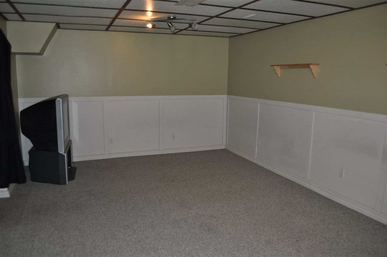The rec room in the basement is fully finished, and has great utility, and multiple furniture placement options