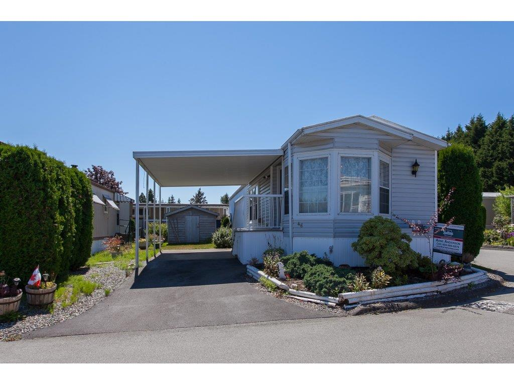 "Main Photo: 46 15875 20 Avenue in Surrey: King George Corridor Manufactured Home for sale in ""SEA RIDGE BAYS"" (South Surrey White Rock)  : MLS®# R2192542"