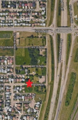 Main Photo: 12424 47 Street in Edmonton: Zone 23 Vacant Lot for sale : MLS® # E4079314