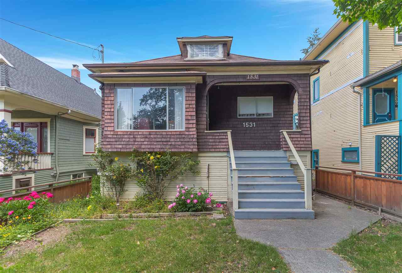 Main Photo: 1531 E 14TH Avenue in Vancouver: Grandview VE House for sale (Vancouver East)  : MLS®# R2274397