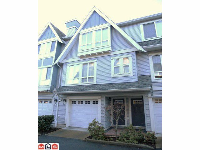 "Main Photo: 70 16388 85TH Avenue in Surrey: Fleetwood Tynehead Townhouse for sale in ""Camelot Village"" : MLS® # F1106811"