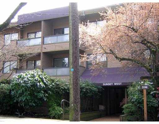 "Main Photo: 214 2190 W 7TH AV in Vancouver: Kitsilano Condo for sale in ""SUNSET WEST"" (Vancouver West)  : MLS®# V583438"