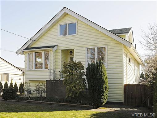 Main Photo: 1743 Newton Street in VICTORIA: Vi Jubilee Single Family Detached for sale (Victoria)  : MLS(r) # 334245
