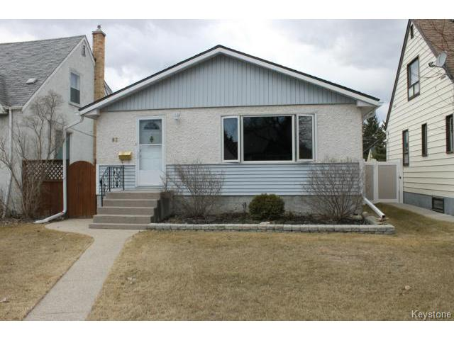 Main Photo: 83 Des Meurons Street in WINNIPEG: St Boniface Residential for sale (South East Winnipeg)  : MLS® # 1508331