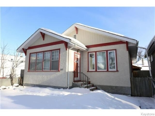 Main Photo: 571 Beverley Street in WINNIPEG: West End / Wolseley Residential for sale (West Winnipeg)  : MLS®# 1601660