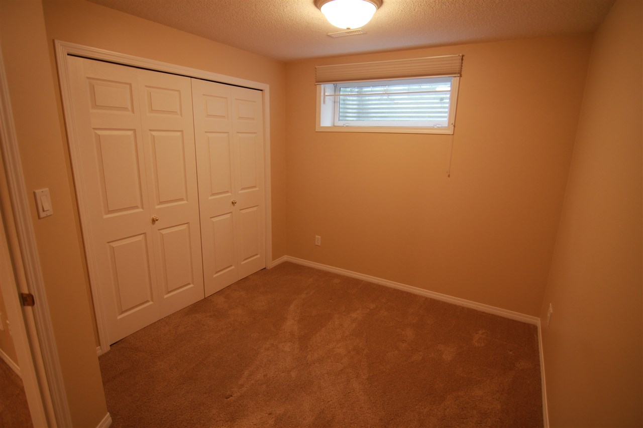 This is the second bedroom and is located in the basement.