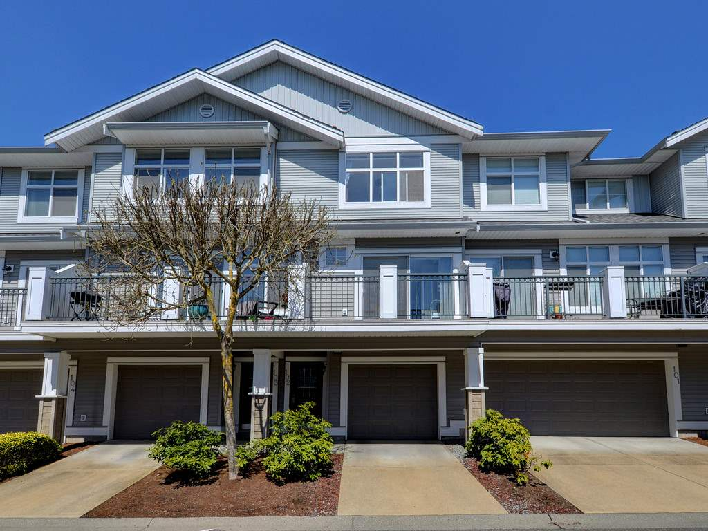 "Main Photo: 102 20449 66 Avenue in Langley: Willoughby Heights Townhouse for sale in ""Natures Landing"" : MLS®# R2260728"