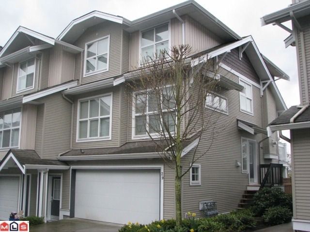 Main Photo: 29 20460 66TH Avenue in Langley: Willoughby Heights Townhouse for sale in &quot;WILLOW EDGE&quot; : MLS(r) # F1119956