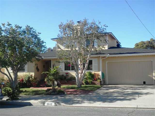 Main Photo: DEL CERRO House for sale : 4 bedrooms : 5640 Marne Avenue in San Diego