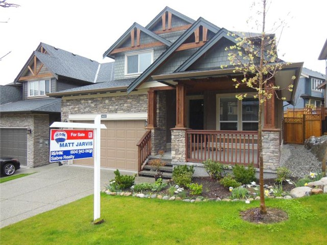Main Photo: 3427 HORIZON Drive in Coquitlam: Burke Mountain House for sale : MLS(r) # V1058585