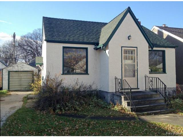 Main Photo: 336 Melbourne Avenue in WINNIPEG: East Kildonan Residential for sale (North East Winnipeg)  : MLS® # 1426628