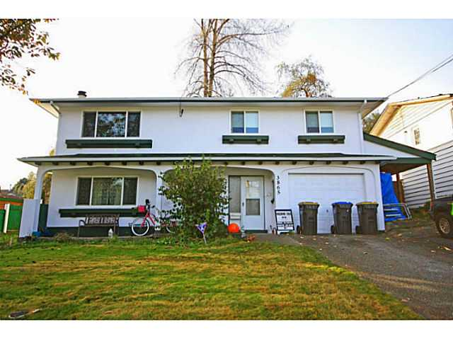 Main Photo: 3865 WELLINGTON Street in Port Coquitlam: Oxford Heights House for sale : MLS® # V1094588