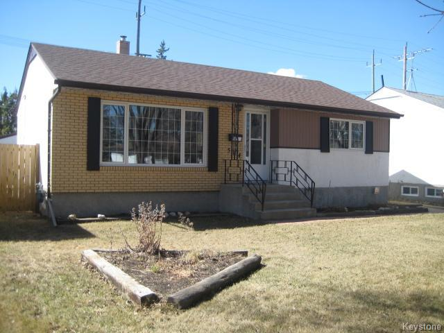 Main Photo: 584 Bronx Avenue in WINNIPEG: East Kildonan Residential for sale (North East Winnipeg)  : MLS® # 1508801