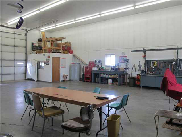 Inside view of part of the shop
