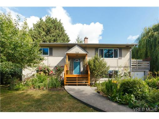 Main Photo: 748 Parkridge Street in VICTORIA: SW Northridge Single Family Detached for sale (Saanich West)  : MLS® # 366641