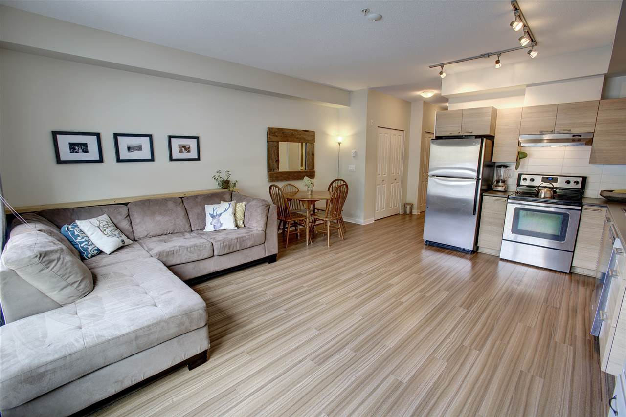 "Main Photo: 204 7445 FRONTIER Street: Pemberton Condo for sale in ""Elements"" : MLS® # R2107404"