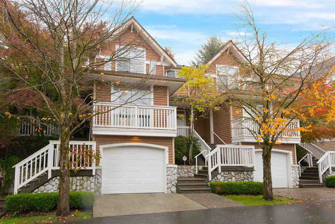 "Main Photo: 10 1506 EAGLE MOUNTAIN Drive in Coquitlam: Westwood Plateau Townhouse for sale in ""RIVER ROCK"" : MLS® # R2115721"