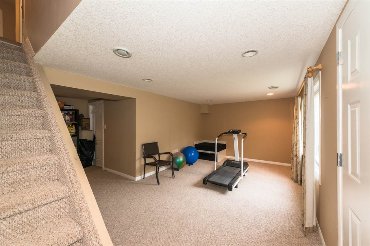Fully Finished Basement with WALKOUT into your completely fenced yard that backs onto green space.