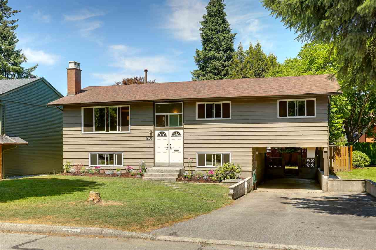 Main Photo: 1255 ELLIS DRIVE in Port Coquitlam: Birchland Manor House for sale : MLS® # R2189335