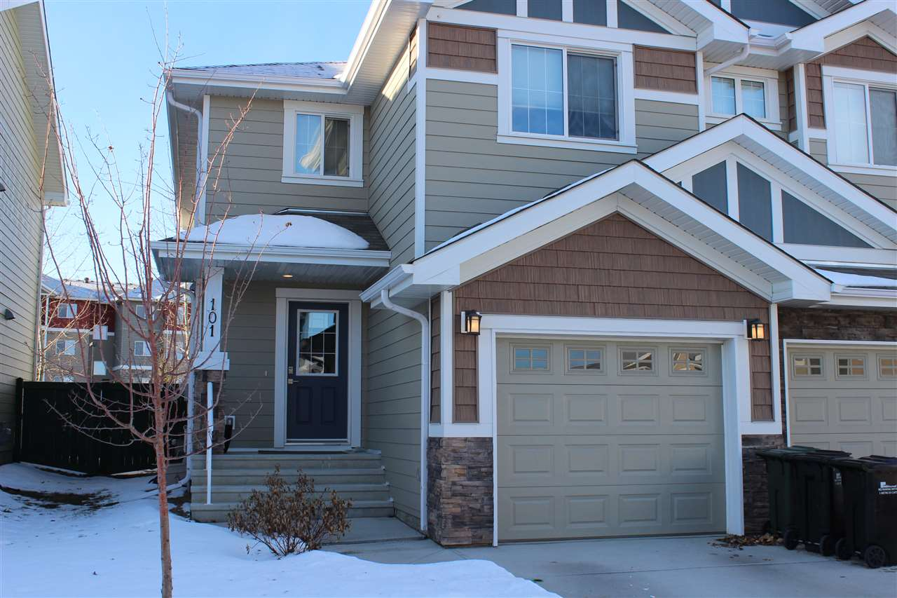 Main Photo: 101 219 Charlotte Way: Sherwood Park House Half Duplex for sale : MLS® # E4092075